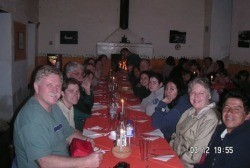 Supper in Guachalá