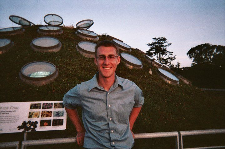 On the roof of the California Academy of Sciences