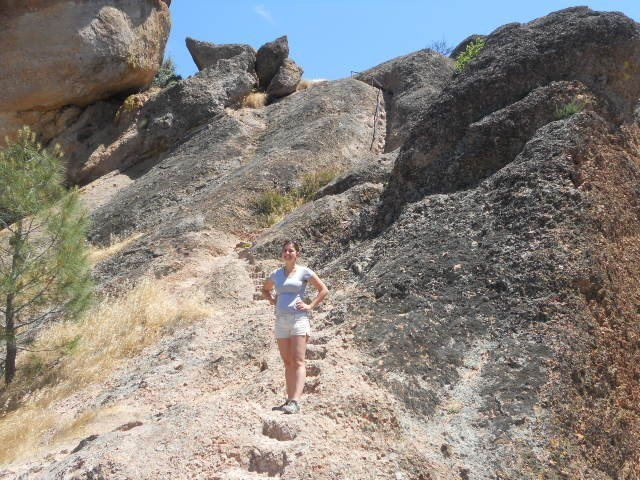 Hiking in Pinnacles National Park California