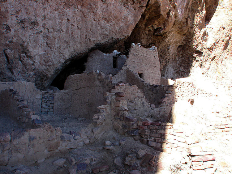 tonto national monument cliff