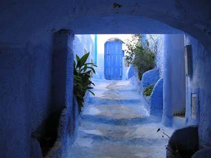 Blue city of Chefchaouen, the most peaceful stop on your MOrocco itinerary