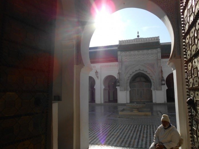 Hidden interiors, all gorgeous in Fez