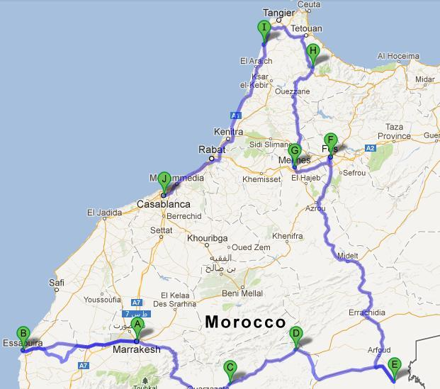 Where Should I Spend Week Vacation In Spain: Easy To Follow Itinerary, Map
