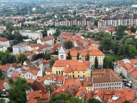 Ljubljana Slovenia itinerary