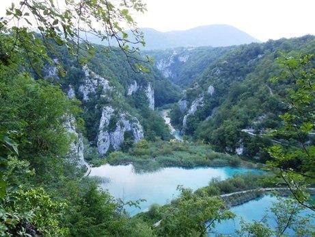 plitvice lakes overlook
