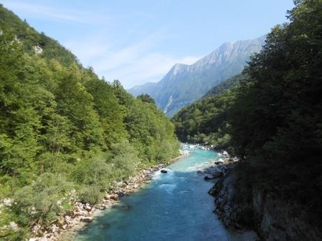 soca river slovenia itinerary