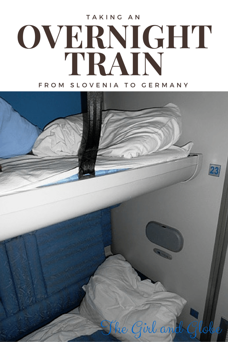 Overnight train rides in Slovenia aren't always glamorous, read up and make your own decision!