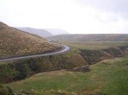 The Road Through Antisana National Park