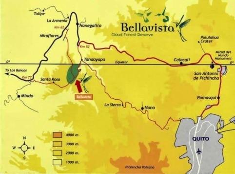 The Route from Quito to Bellavista