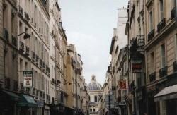 Streets in the Latin Quarter of Paris