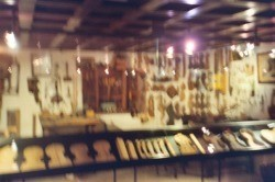Lots of violins at the Musical Instruments Museum