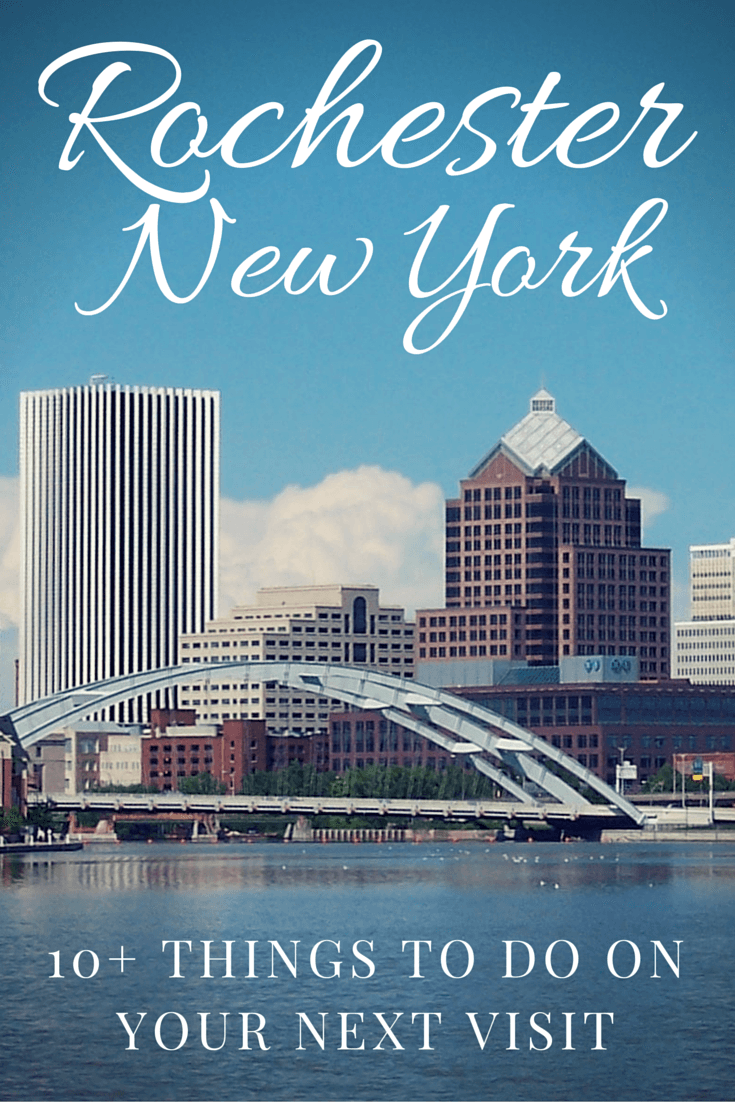 There's more to New York than Manhattan! Head to the western part of the state and enjoy 10+ things to do in Rochester NY.