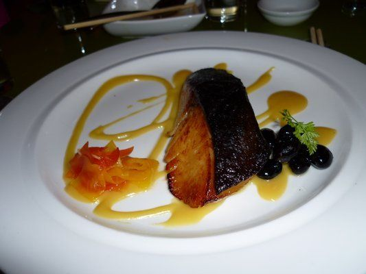 Black cod misu (su misu mustard) - I could eat this all day, every day.