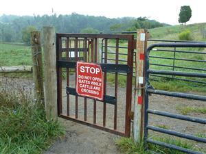 creeper trail gate