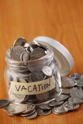 vacation fund tip jar / how to start a travel blog