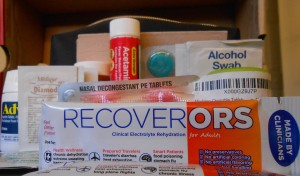 travel first aid items