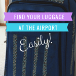 Hate standing at the baggage carousel wondering which bag is yours? Here's how to find your luggage at the airport with a little duct tape and make sure you grab the right one. Full instructions at https://sightdoing.net/how-to-find-your-luggage-at-the-airport/ #travel #protip
