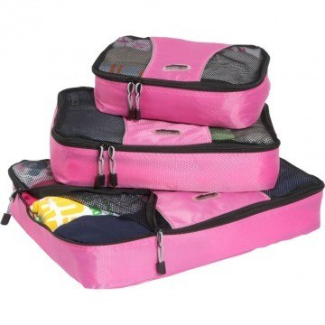 3 Piece Set of eBags Packing Cubes - in case you're wondering are packing cubes worth it?