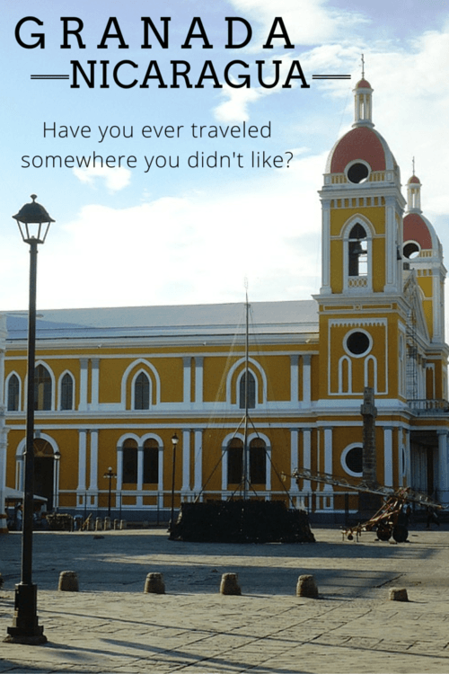 Granada, Nicaragua is a colonial gem but the ambiance didn't mesh well with expectations of this traveler. Have you been? What did you think? Full editorial at https://sightdoing.net/granada-nicaragua/