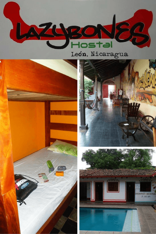 Full review at https://sightdoing.net/lazybones-hostel-leon-nicaragua/