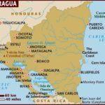 map nicaragua travel guide