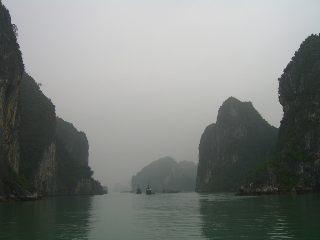 Halong Bay early in the morning