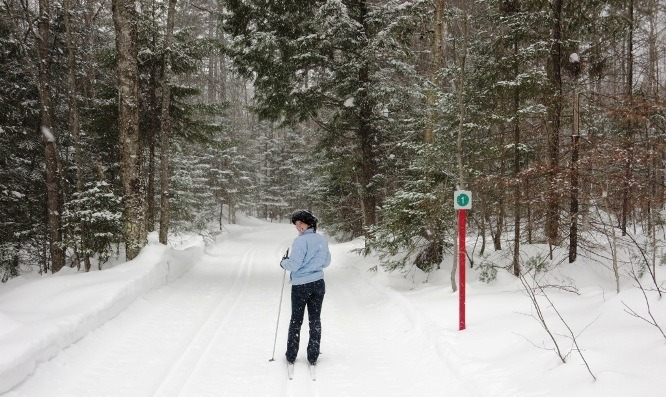 cross country skiing duchesnay quebec city