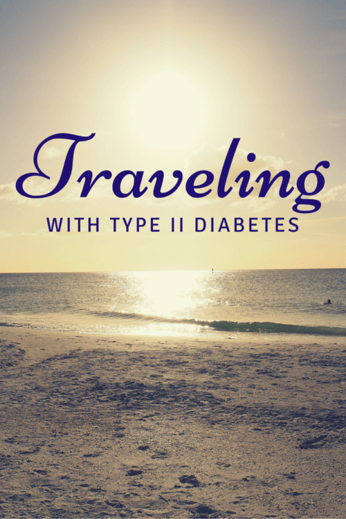 These 8 tips for traveling with Type II diabetes will make it easier to plan for and enjoy your trip. Full article at https://sightdoing.net/traveling-with-type-2-diabetes/