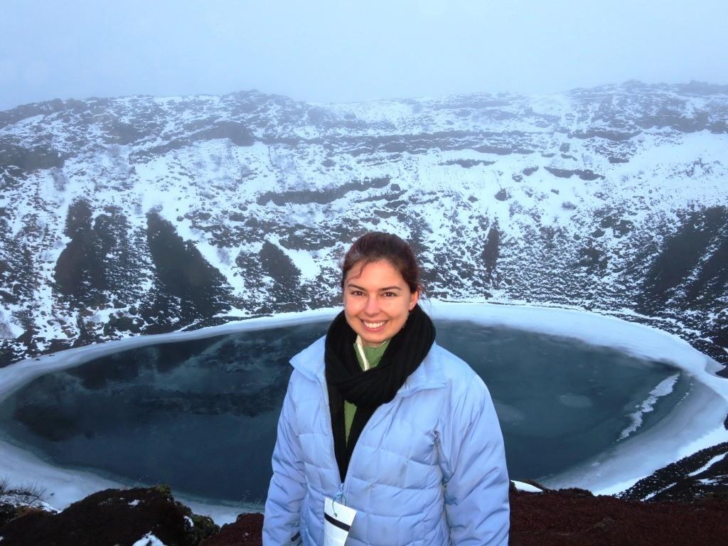 kerid crater golden circle iceland
