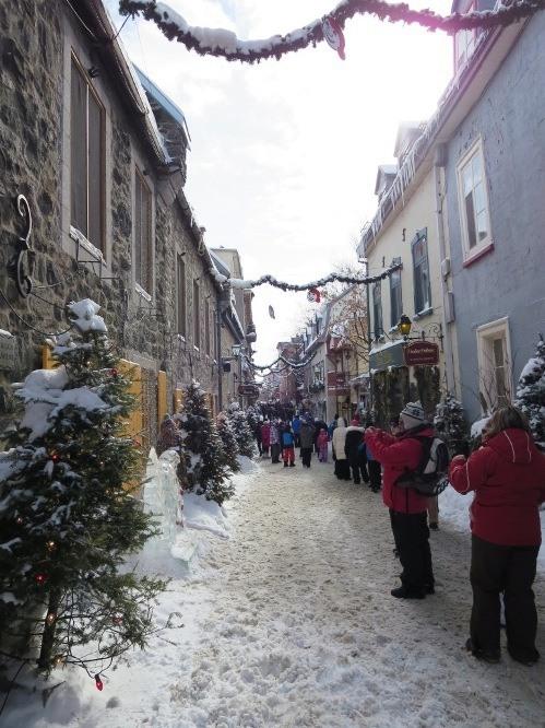 Unplanned wandering in picturesque Quebec.