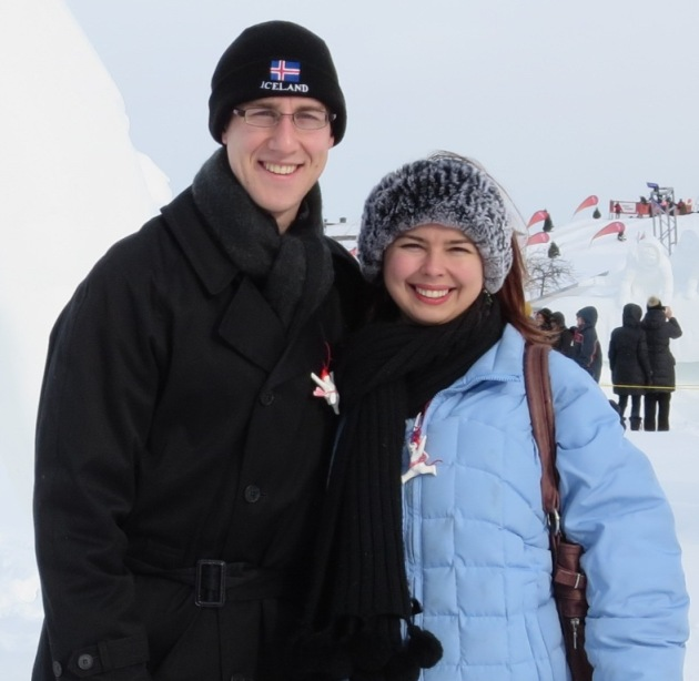At Quebec's Winter Carnival 2014