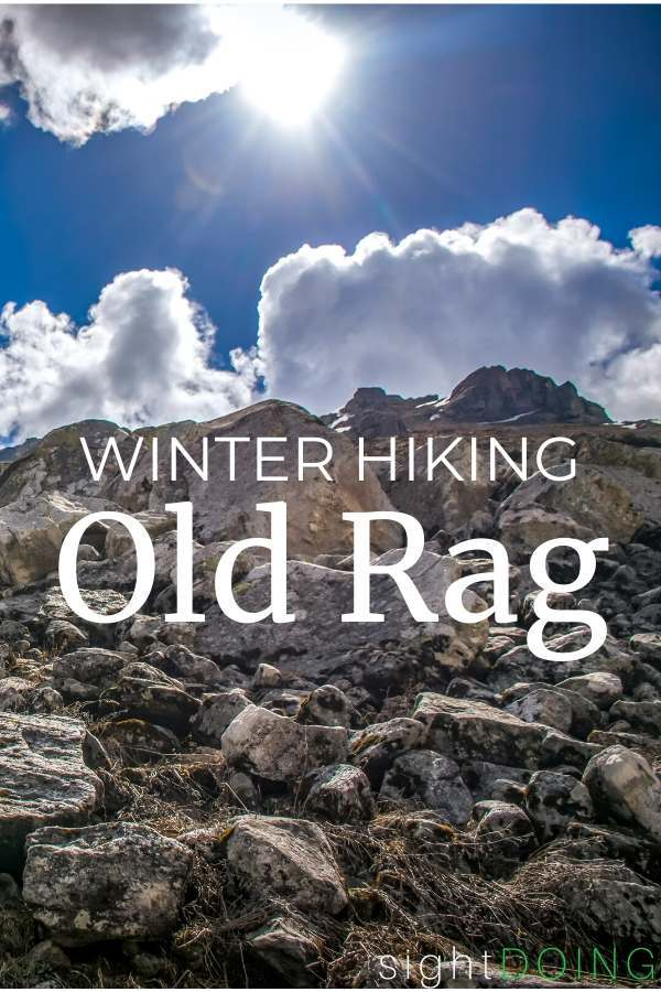 Old Rag Winter Hike