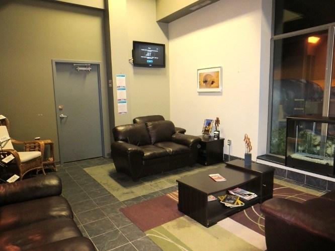 indoor lounge | hotel de glace | ice hotel canada