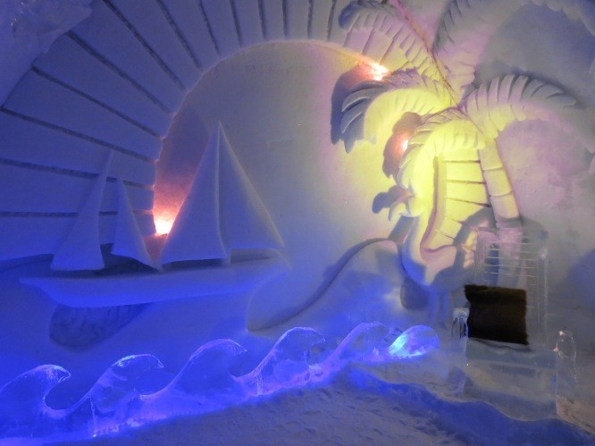 cool travel experiences | ice hotel canada