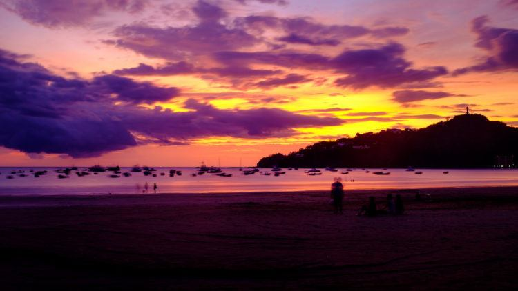 Sunset at San Juan del Sur