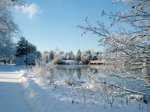 Spokane's Riverfront Park how to dress for winter