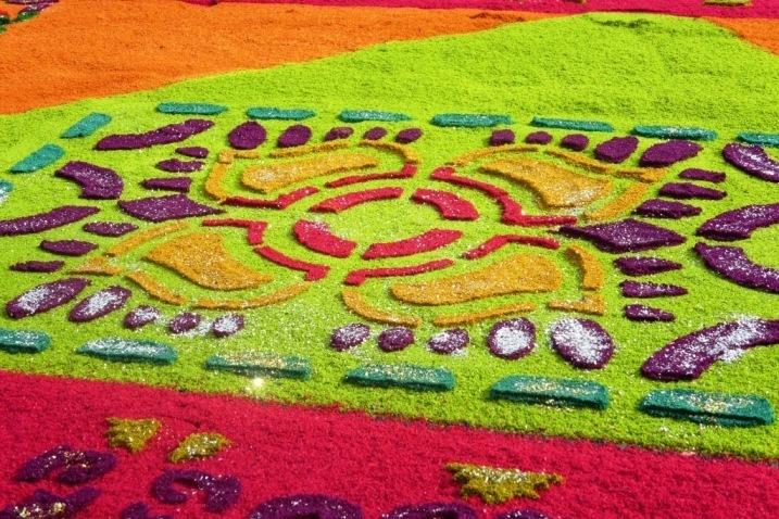 semana santa antigua Guatemala alfombra carpet