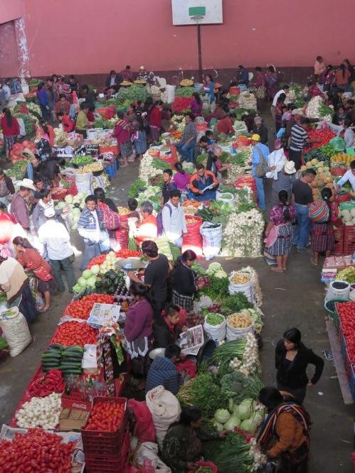chichicastenango market produce