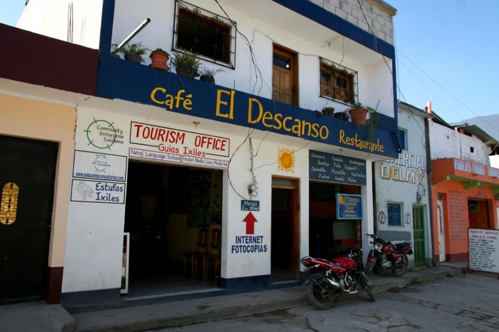 Tourist Industry in Nebaj