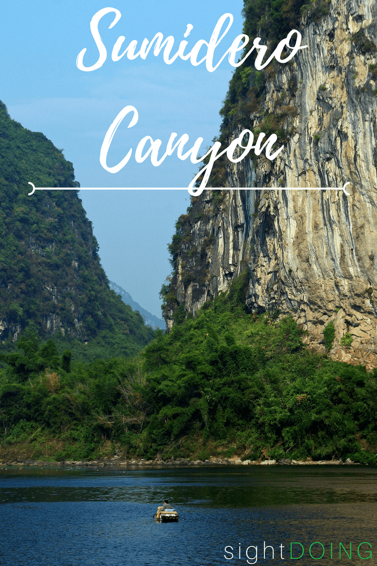 El Cañon del Sumidero is the prettiest national park in Chiapas. Take a day trip from San Cristobal de las Casas (Chiapas, Mexico) to spot monkeys and crocodiles - plus gorgeous scenery. Here's how to plan your trip -- and what to watch out for.