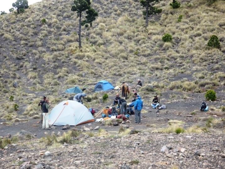 camping acatenango volcano guatemala