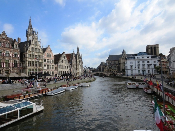 Ghent, Belgium - a town I didn't plan on visiting but ended up loving.