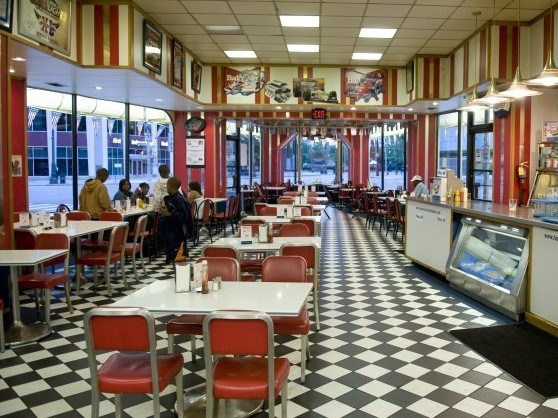 inside american coney island detroit