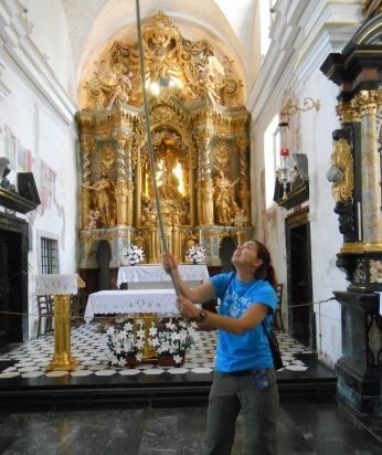 church lake bled slovenia