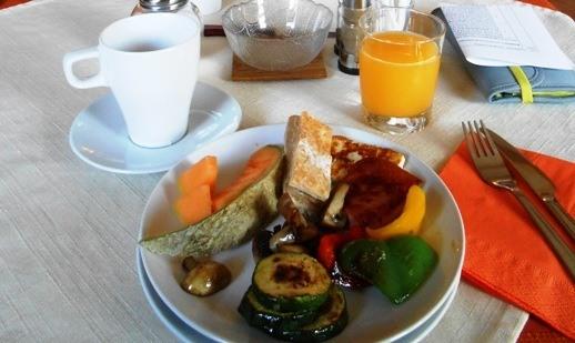 breakfast in bled   slovenia travel guide