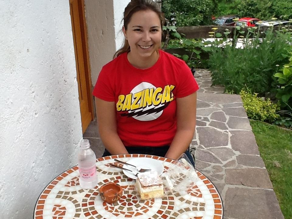 cake lake bled slovenia