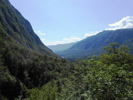 hike lake bohinj slovenia