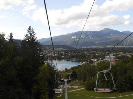 luge lake bled slovenia