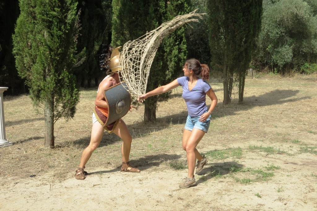 Don't mess with me. I know how to use a net.
