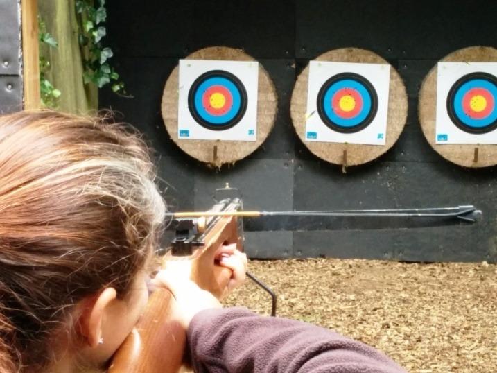 Target practice at Het Drielandenpunt, near Vaals